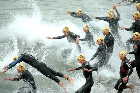 Triathlon préparation à l'effort de natation