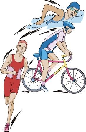 Triathlon préparation à l'effort