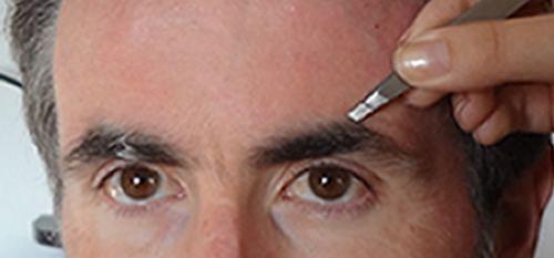 Epilation sourcils - Esthétique Homme