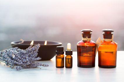 Les produits de massage