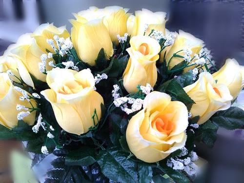 langage des fleurs - la rose jaune - esthétique homme
