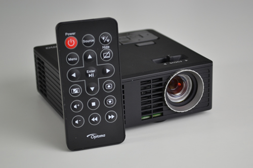 Test du pico projecteur Optoma ML750