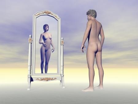 homme femme transgenre
