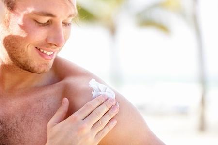 protection solaire - Esthétique Homme