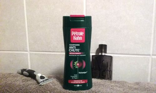 Test du shampoing Anti-Chute Petrol Hahn