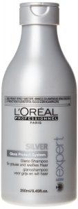 L'Oréal Professionnel – Shampoing Eclat pour Cheveux Gris et Blancs – Silver – 250ml