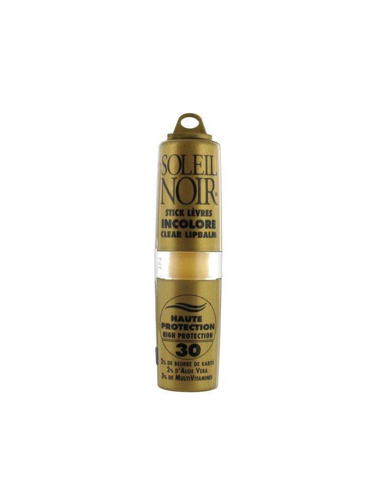 Soleil Noir – Soleil Noir Stick Levres Incolore Indice 30 Protection Solaire