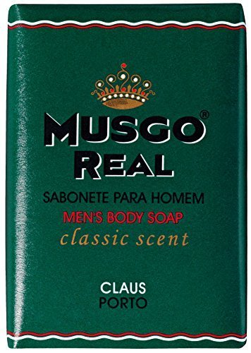 Musgo Real Claus Porto Savon corporel pour homme 160 g