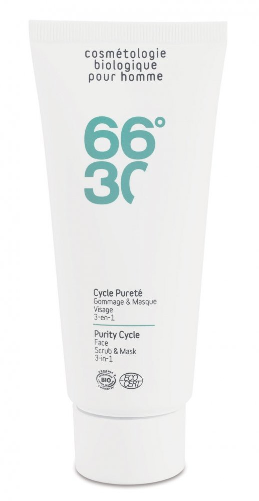 66°30 Cycle Pureté – Gommage et masque 3 en 1 – 100ml