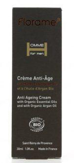 FLORAME Crème anti-âge Homme – 30ml