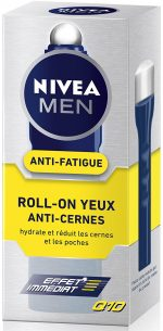 Nivea Men Roll On Yeux Anti-Cernes Q10+ Anti-Fatigue 10 ml