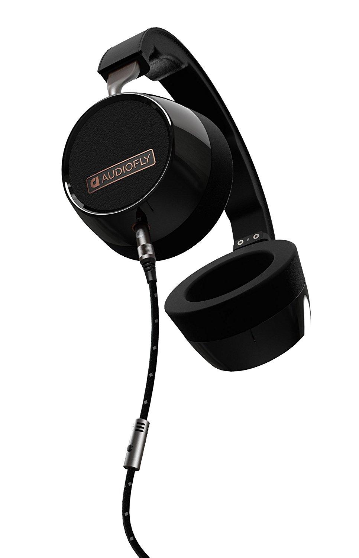 Audiofly AF240 Casque avec Microphone Noir