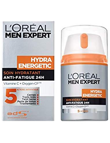 L'Oréal Men Expert Hydra Energetic Soin Hydratant Anti-Fatigue