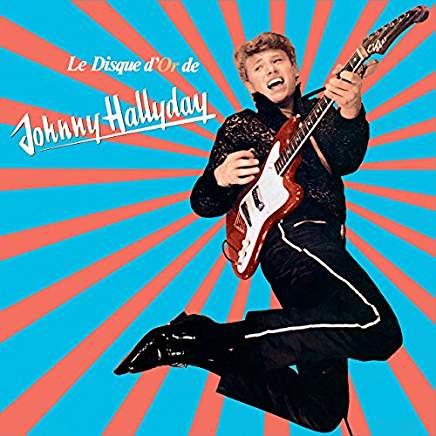 Disque D'or VINYLE de Johnny Hallyday Edition Limitée