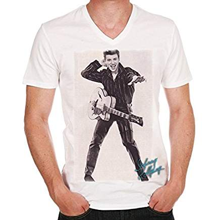 Johnny Hallyday rock T-shirt