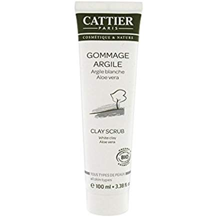 CATTIER GOMMAGE ARGILE BLANCHE 100ML