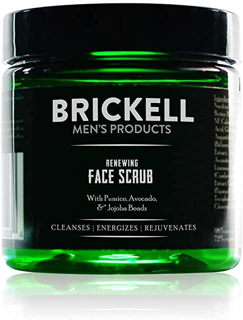 BRICKELL MEN'S GOMMAGE VISAGE NATUREL ET BIO